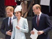 kate middleton prince william and prince harry