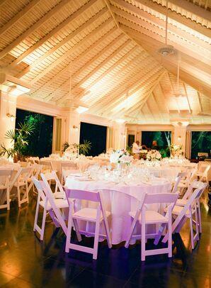 White Reception Space