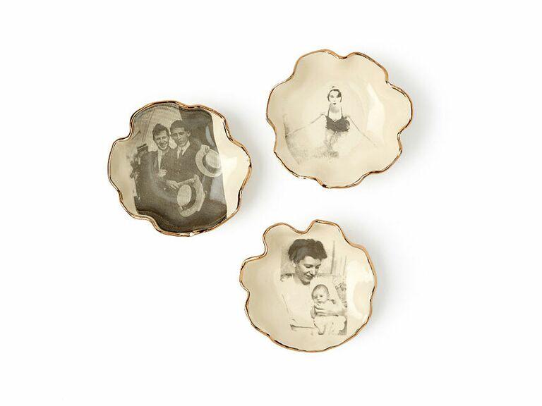 personalized photo ceramic dishes