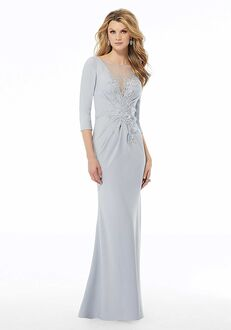 MGNY 72115 Blue,Silver Mother Of The Bride Dress
