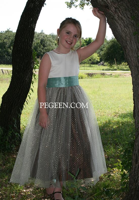 Pegeen.com  372 Flower Girl Dress photo