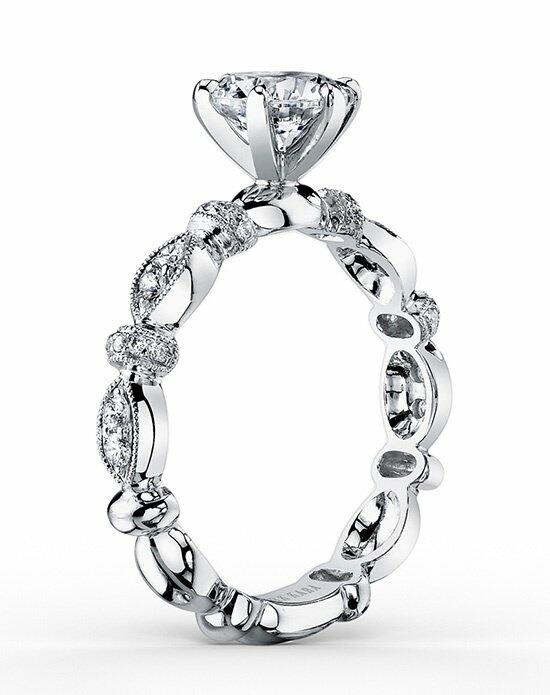 Kirk Kara Dahlia Collection K1270DC-R Engagement Ring photo