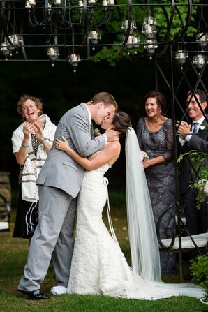 First Kiss at Lord Thompson Manor
