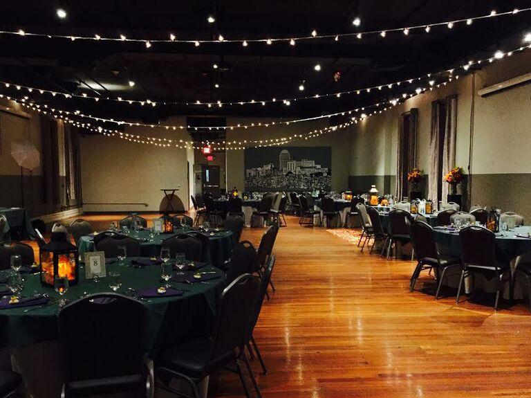 Brewery wedding venue in Allentown, Pennsylvania.