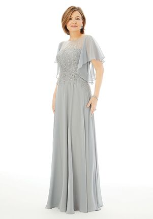 MGNY 72206 Silver,Purple,Pink Mother Of The Bride Dress