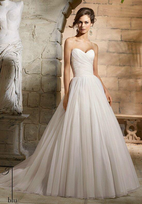 Blu by Madeline Gardner 5364 Wedding Dress photo