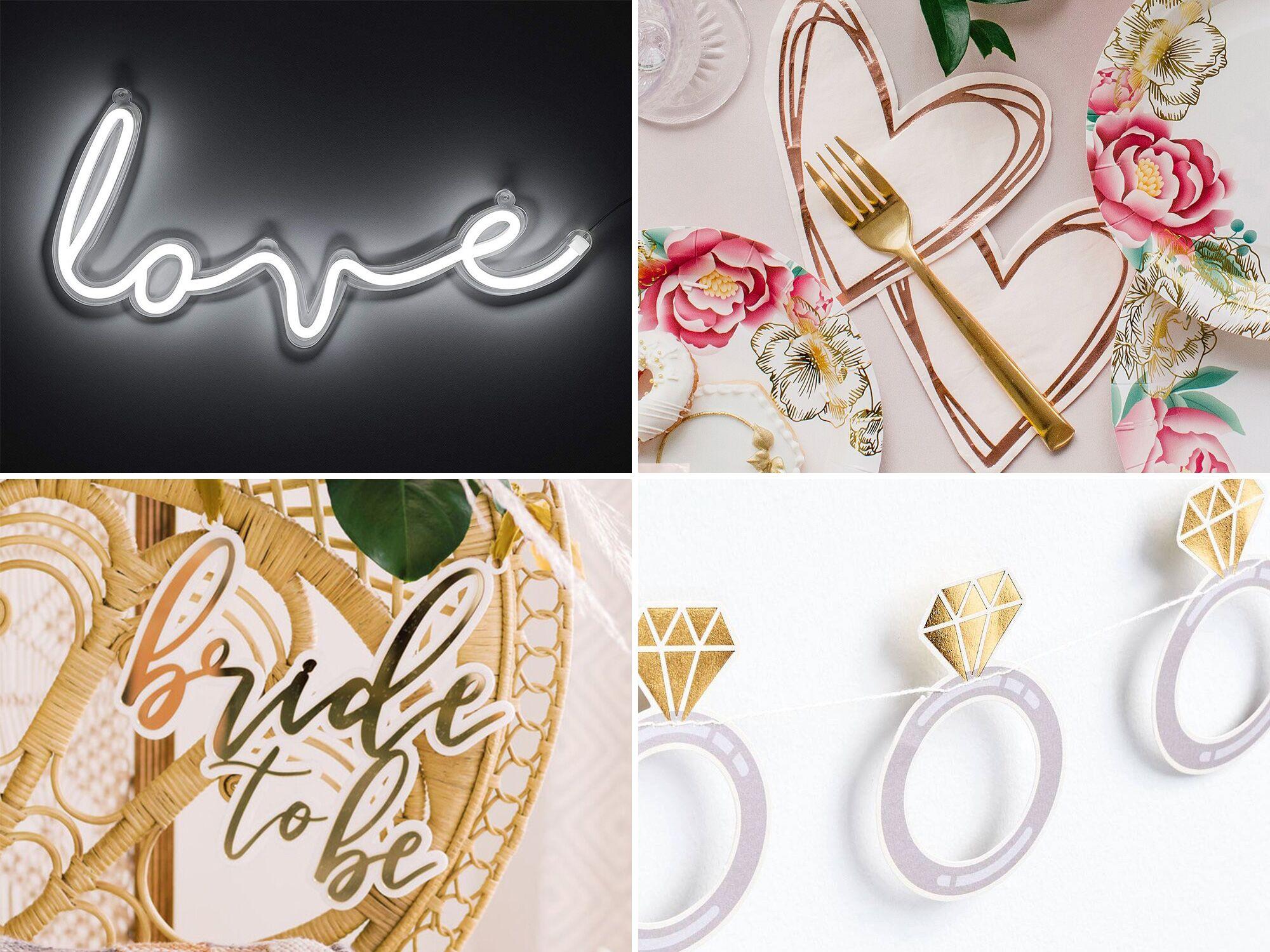 12 Paper Straws ~ Pink /& White ~ Gold Glitter Heart ~ Bridal Shower ~ Decoration