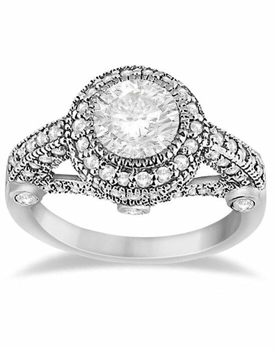 Allurez - Customized Rings U1331 Engagement Ring photo