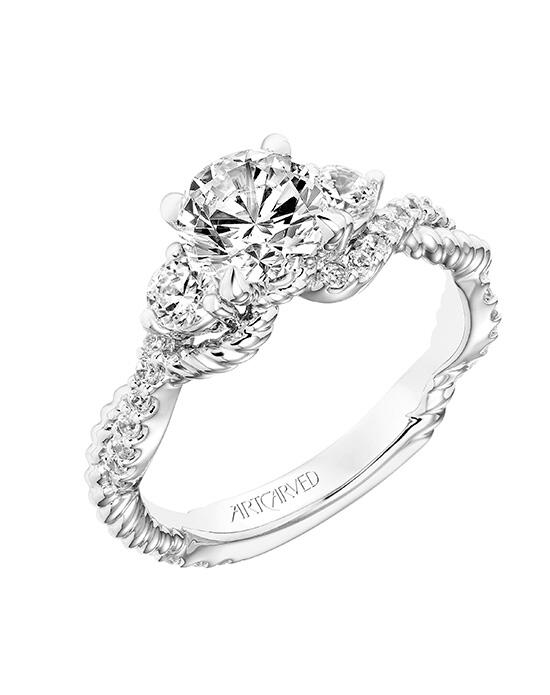 ArtCarved 31-V757ERW-E.00 Engagement Ring photo