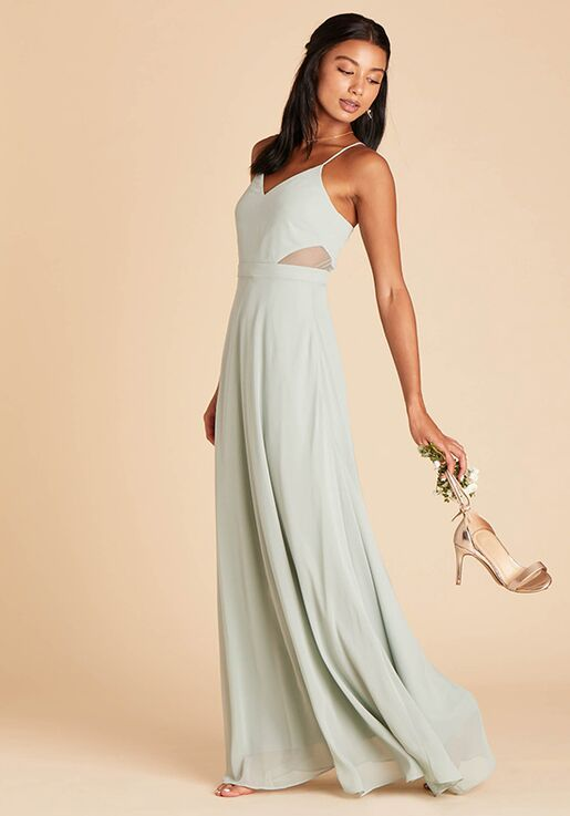 Birdy Grey Lin Dress in Sage Sweetheart Bridesmaid Dress