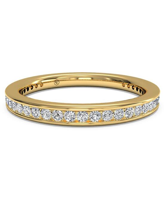 Ritani Women's Channel-Set Diamond Wedding Band - in 18kt Yellow Gold - (0.45 CTW) Wedding Ring photo