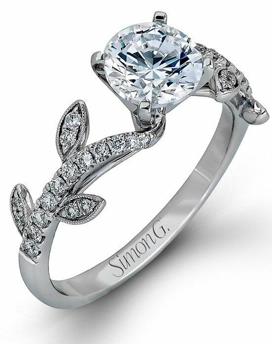 Simon G. Jewelry MR2368-A Engagement Ring photo