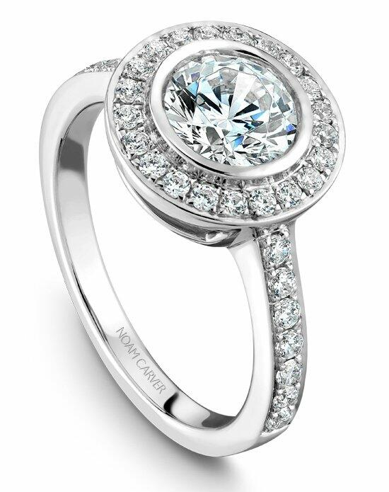 Noam Carver B013-01WS-100A Engagement Ring photo