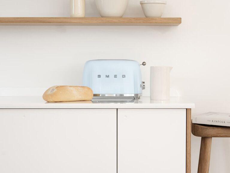 Retro toaster bridal shower gift idea