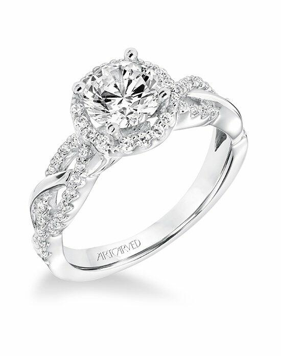 ArtCarved 31-V682ERW-E Engagement Ring photo