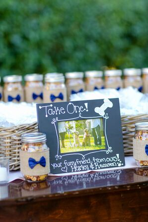 DIY Chex Mix and Pet Wedding Favors