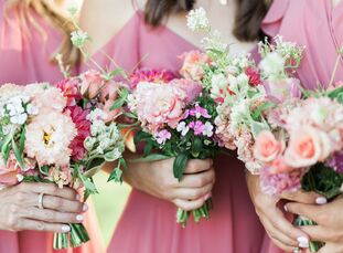 Anne and Brett wanted a garden-inspired vibe for their wedding and The Inn at Rancho Santa Fe, with its magical sunsets and serene countryside feel, p