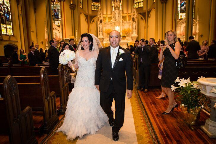 St. Monica's Church Ceremony Recessional