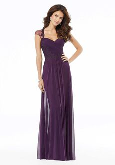 MGNY 72105 Blue,Purple Mother Of The Bride Dress