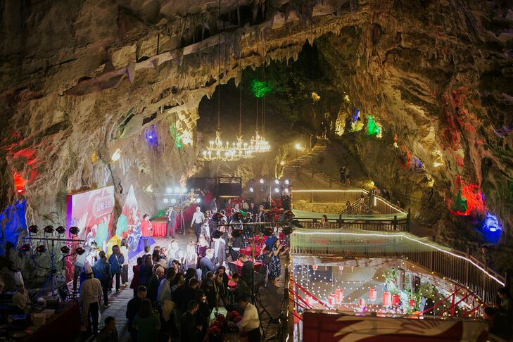 After-Party in Cave in Zhangjiajie, China