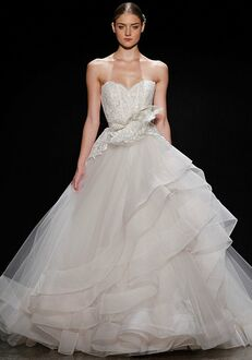 Lazaro 3413 Ball Gown Wedding Dress