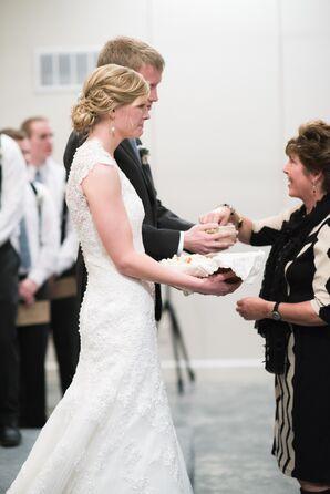 Wedding Communion Ceremony in Oskaloosa, Kansas
