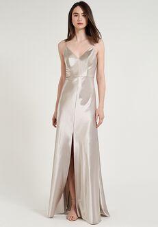 Jenny Yoo Collection (Maids) Dina V-Neck Bridesmaid Dress