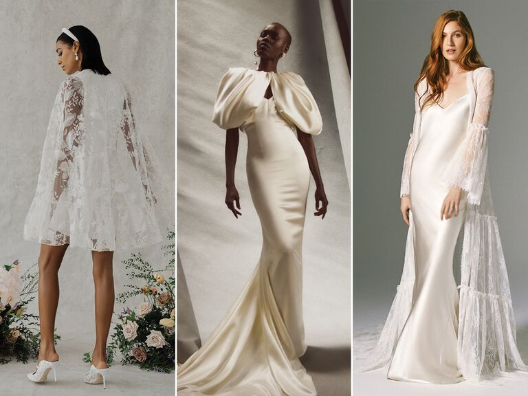 wedding dresses with transitional pieces