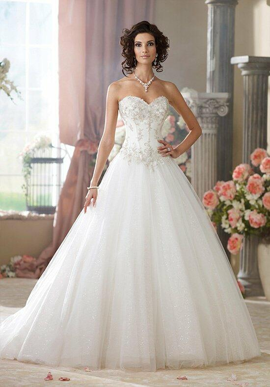 David Tutera for Mon Cheri 214209 McKayla Wedding Dress photo
