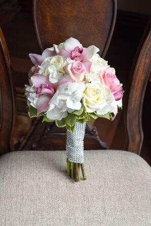Rose, Hydrangea and Orchid Bouquet