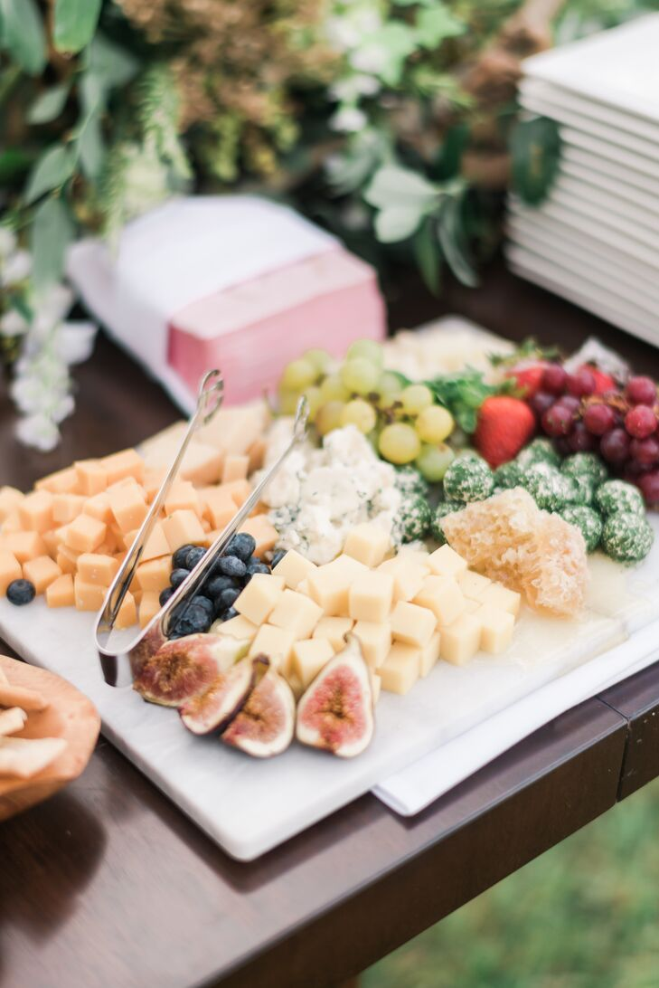 Cheese and Fresh Fruit Board