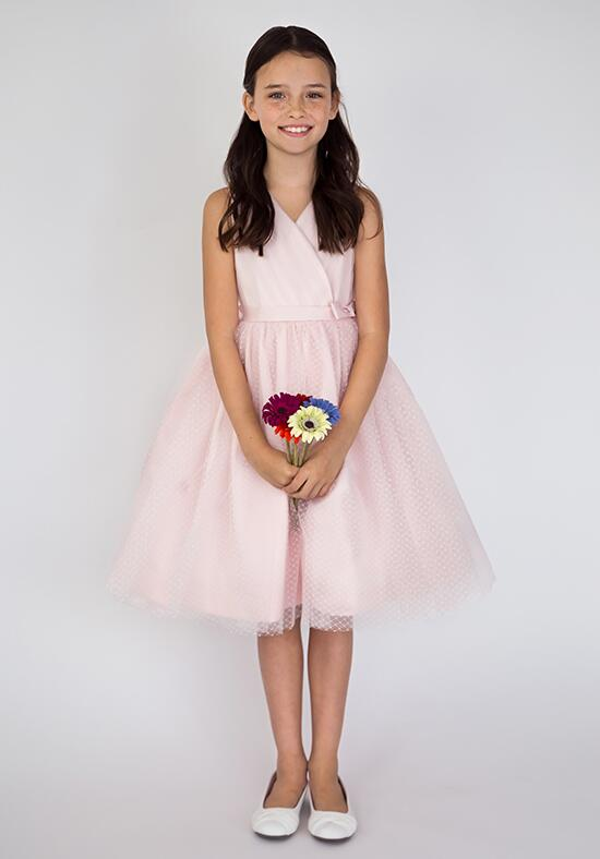 Us Angels Beautiful Color Princess Ballerina-681_blush Flower Girl Dress photo