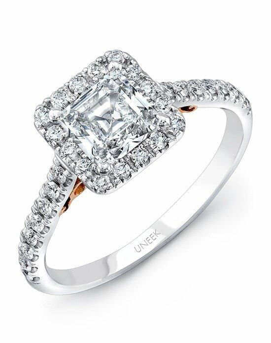 Uneek Fine Jewelry A101WR-5.5PC Engagement Ring photo