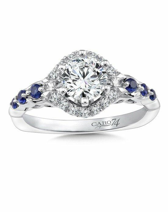 Caro 74 CR366W-BSA Engagement Ring photo