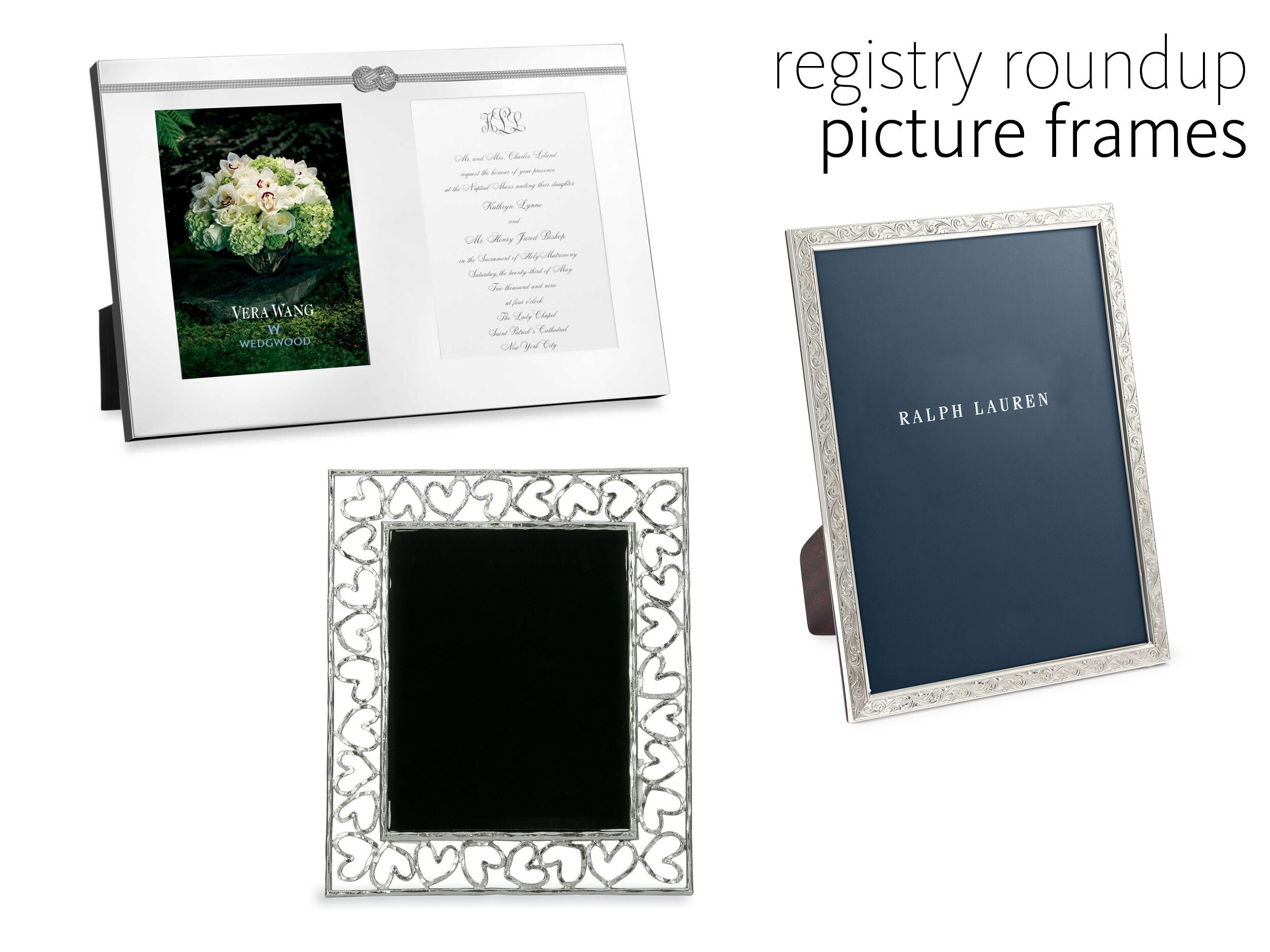 10 Classic Frames For Your Amazing Wedding Pictures