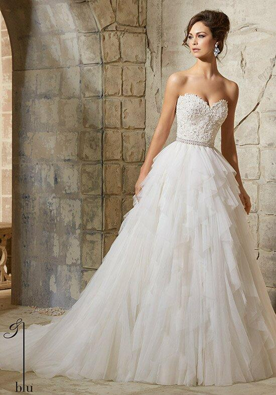 Blu by Madeline Gardner 5366 Wedding Dress photo