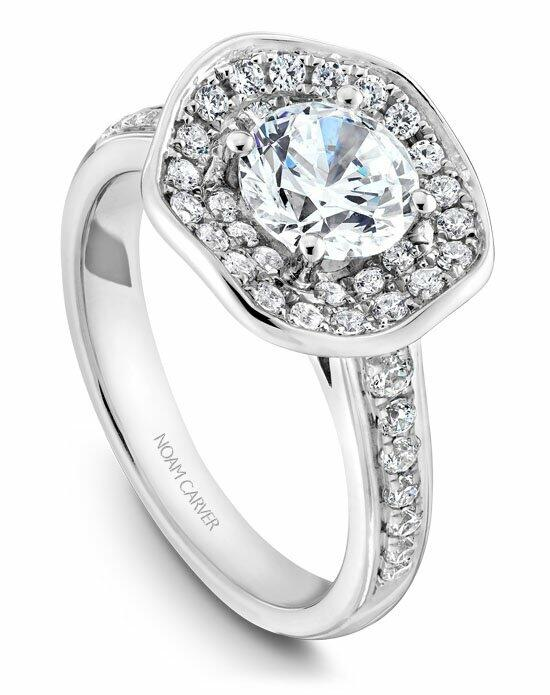 Noam Carver B014-05WS-100A Engagement Ring photo
