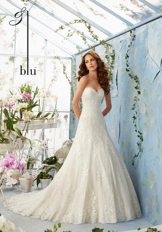 Blu by Madeline Gardner 5404 Wedding Dress photo