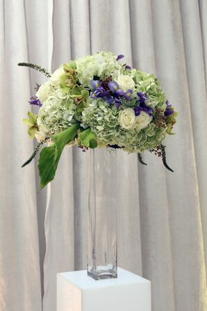 Hydrangea and Orchid Ceremony Flowers