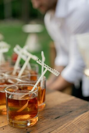 Signature Cocktails With Custom Drink Stirrers