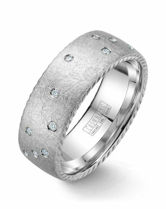 CrownRing WB-020RD8W-M10 Wedding Ring photo