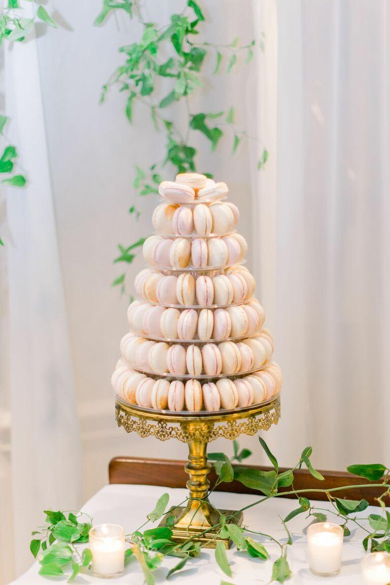 Macaron wedding cake alternative