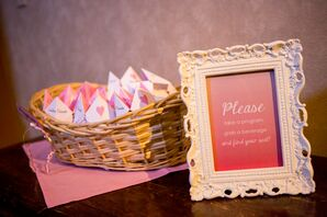 Ceremony Pink Origami Programs