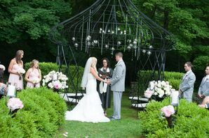 Outdoor Grass Ceremony at Lord Thompson Manor