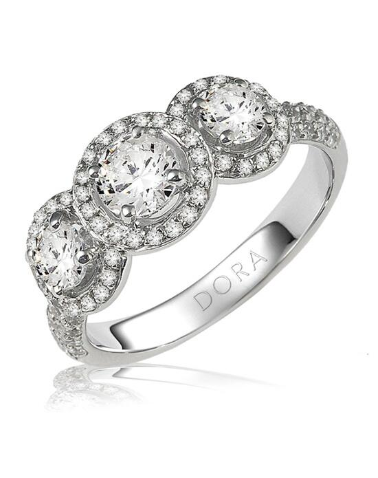 dora rings 8220000 engagement ring the knot