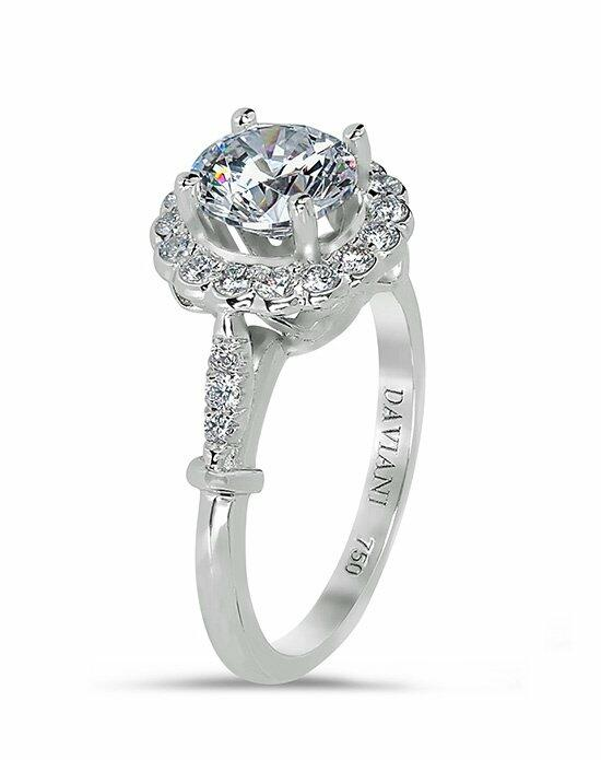 Daviani Love Links Collection DCR1015 Engagement Ring photo