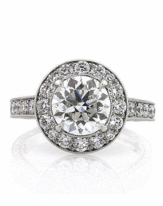 Mark Broumand 4.27ct Antique Transitional Round Brilliant Diamond Engagement Ring Engagement Ring photo