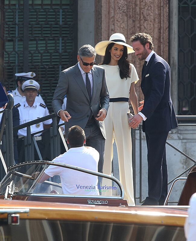 Amal Alamuddin and George Clooney got legally married in a civil ceremony