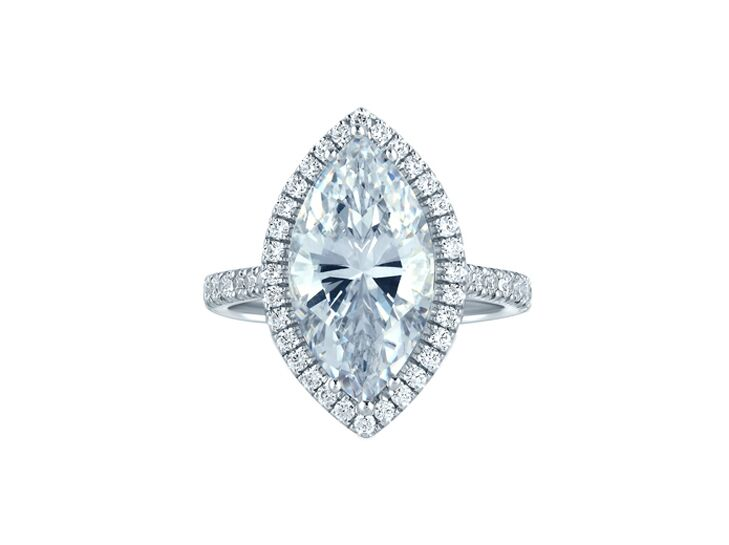 a jaffe marquise engagement ring