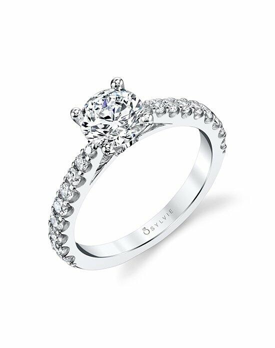 Sylvie Collection S1362 Engagement Ring photo